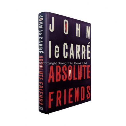 Absolute Friends Signed by John le Carré First Edition Hodder & Stoughton 2004